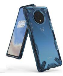 Ringke Fusion X OnePlus 7T Pro Hoesje Blauw