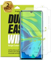 Ringke Dual Easy Wing Xiaomi Mi Note 10 (Pro) Screenprotector [2-Pack]