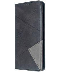 Samsung Galaxy S20 Hoesje Geometrie Portemonnee Zwart