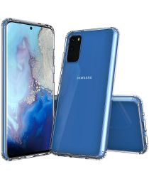 Samsung Galaxy S20 Hoesje Antikras Hybride Transparant