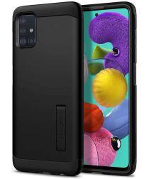 Spigen Tough Armor Samsung Galaxy A51 Hoesje Zwart