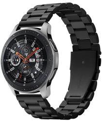 Spigen Modern Fit Universeel Smartwatch 22MM Bandje RVS Zwart
