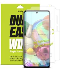 Ringke Dual Easy Wing Samsung Galaxy A71 Screenprotector (Duo Pack)