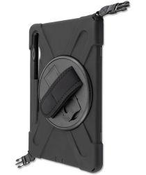 4smarts Rugged GRIP Samsung Galaxy Tab S6 Hoes Zwart