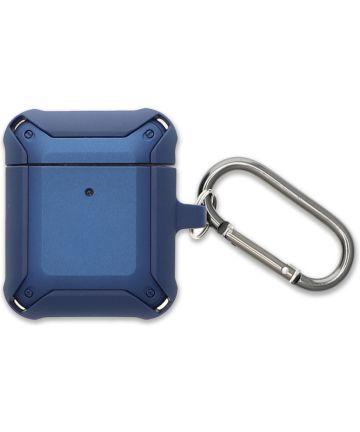 4smarts HardShell Apple AirPods Hoesje Blauw Hoesjes