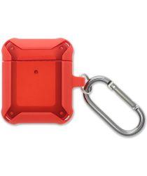 4smarts HardShell Apple AirPods Hoesje Rood
