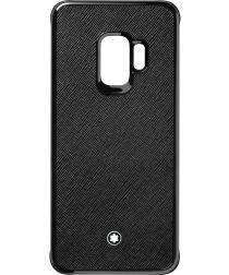 Montblanc Sartorial Hard Shell Samsung Galaxy S9 Hoesje Zwart