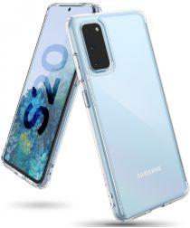 Ringke Fusion Samsung Galaxy S20 Hoesje Transparant
