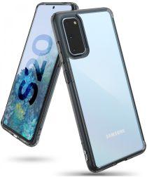 Ringke Fusion Samsung Galaxy S20 Hoesje Transparant/Zwart