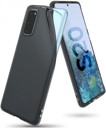 Samsung Galaxy S20 Hoesje Ringke Air Flexibele Back Cover Zwart