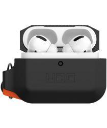 Urban Armor Gear Apple AirPods Pro Hoesje Siliconen Zwart/Oranje