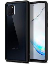 Spigen Ultra Hybrid Samsung Galaxy Note 10 Lite Hoesje Zwart