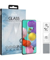 Eiger 2.5D GLASS Samsung Galaxy A51 Screenprotector Tempered Glass
