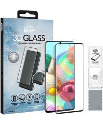Eiger 3D GLASS Full Screen Samsung Galaxy A71 Screen Protector