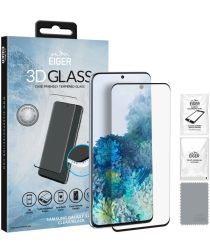 Eiger 3D GLASS Samsung Galaxy S20 Plus Screenprotector Tempered Glass