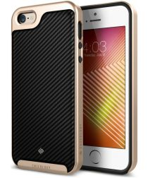 Caseology Envoy Apple iPhone SE / 5S / 5 Hoesje Carbon Fiber