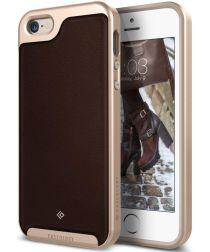 Caseology Envoy Apple iPhone SE / 5S / 5 Hoesje Leer Bruin