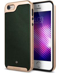 Caseology Envoy Apple iPhone SE / 5S / 5 Hoesje Leer Groen