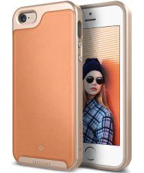 Caseology Envoy Apple iPhone SE / 5S / 5 Hoesje Leer Roze