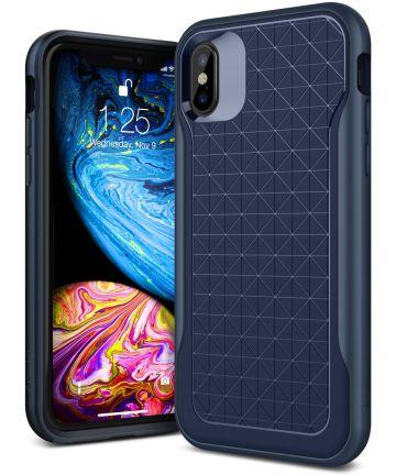 Caseology Apex Apple iPhone XS / X Hoesje Blauw