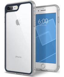 Caseology Coastline Apple iPhone 8 / 7 Plus Hoesje Transparant/Blauw
