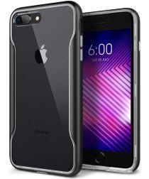 Caseology Apex Clear Apple iPhone 8 / 7 Plus Hoesje Transparant/Zwart