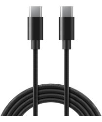 Caseology Fast Charge USB-C naar USB-C Kabel 1.2m Zwart