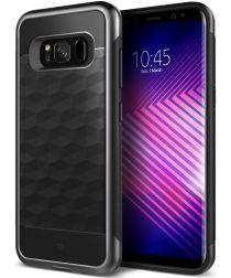 Caseology Parallax Samsung Galaxy S8 Hoesje Zwart