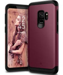 Caseology Legion Samsung Galaxy S9 Hoesje Burgundy
