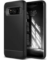 Caseology Vault II Samsung Galaxy S8 Hoesje Zwart