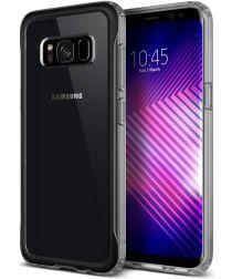 Caseology Coastline Samsung Galaxy S8 Plus Hoesje Transparant/Grijs
