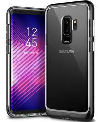 Caseology Skyfall Samsung Galaxy S9 Plus Hoesje Transparant/Zwart