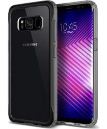 Caseology Coastline Samsung Galaxy S8 Hoesje Transparant/Grijs