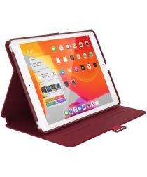 Speck Balance Folio Apple iPad 10.2 2019 / 2020 / 2021 Hoes Rood