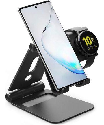 Ringke Super Folding Universele Smartphone en Galaxy Watch Stand Zwart Houders