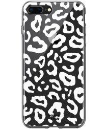 HappyCase Apple iPhone 8 / 7 Plus Hoesje TPU Luipaard Print