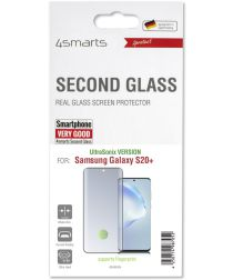 4smarts Second Glass UltraSonix Samsung S20 Plus Screen Protector