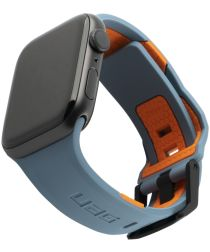 Urban Armor Gear Civilian Apple Watch 44MM / 42MM Bandje Blauw/Oranje