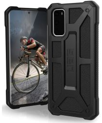 Urban Armor Gear Monarch Samsung Galaxy S20 Hoesje Black