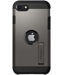 Spigen Tough Armor Apple iPhone SE (2020) Hoesje Gunmetal
