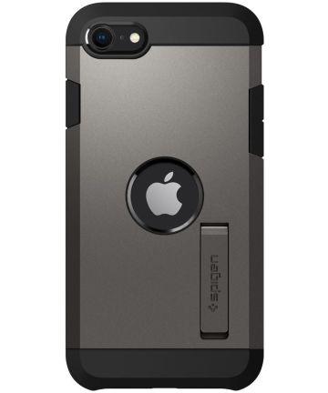 Spigen Tough Armor Apple iPhone SE (2020) Hoesje Gunmetal