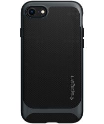 Spigen Neo Hybrid Apple iPhone SE (2020) Hoesje Metal Slate