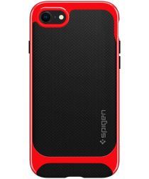 Spigen Neo Hybrid Apple iPhone SE (2020) Hoesje Dante Red