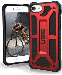 Urban Armor Gear Monarch Series Apple iPhone SE (2020) Hoesje Crimson