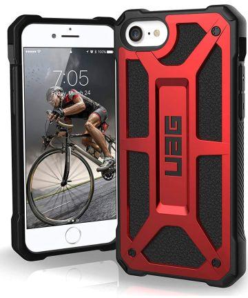 Urban Armor Gear Monarch Series Apple iPhone SE (2020) Hoesje Crimson Hoesjes