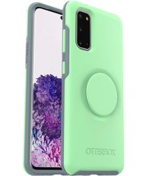 Otter + Pop Symmetry Series Samsung Galaxy S20 Hoesje Mint Groen