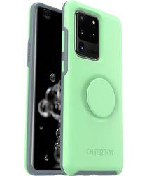 Otter + Pop Symmetry Series Samsung Galaxy S20 Ultra Hoesje Mint Groen