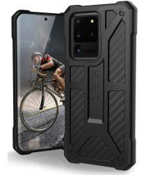 Urban Armor Gear Monarch Samsung Galaxy S20 Ultra Hoesje Carbon Fiber