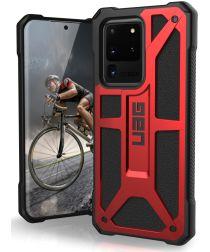 Urban Armor Gear Monarch Samsung Galaxy S20 Ultra Hoesje Crimson