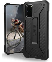 Urban Armor Gear Monarch Samsung Galaxy S20 Plus Hoesje Carbon Fiber